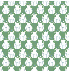 pitchers and cups seamless pattern vector image vector image