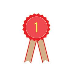 ribbon award vector image