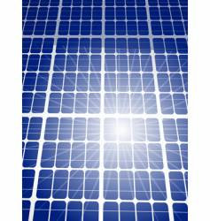 solar panel background vector image