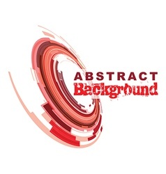 abstract red vector image