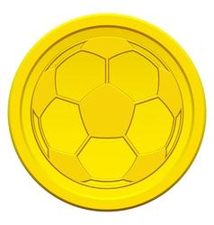 Ball on coin vector