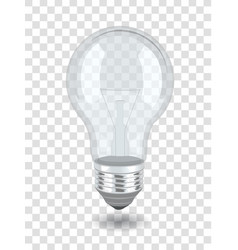 bulb over background vector image