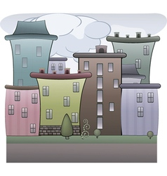 Colorful Town vector image