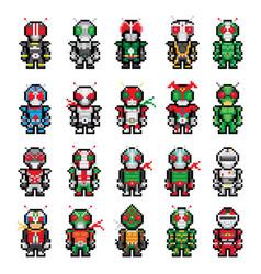 pixel character vector image