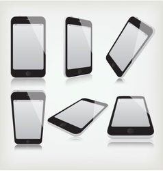 Set phone vector image