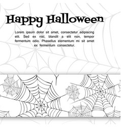 Spider web vector