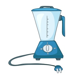 cartoon home kitchen blender vector image vector image