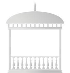 rotunda arbor vector image