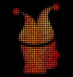 bright dot joker icon vector image