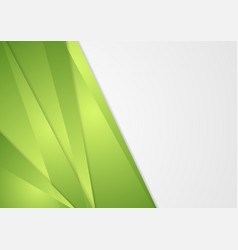 Bright green abstract corporate background vector