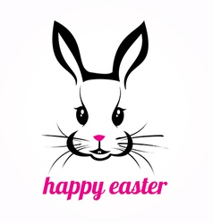 Easter rabbit vector