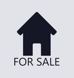 House icon for sale vector