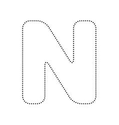 Letter n sign design template element royalty free vector letter n sign design template element vector image maxwellsz