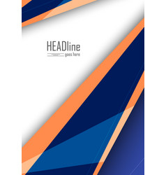 Modern cover template vector