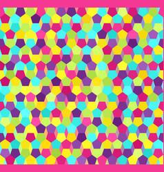 Pentagon pattern seamless vector