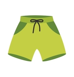 Running shorts vector