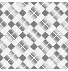 Striped geometric pattern - seamless vector image