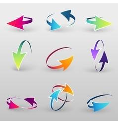Volume set cursors graphics vector