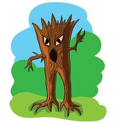 wood goblin vector image