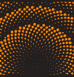 geometric flower background dot ornament vector image