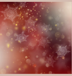 christmas red holiday glowing background eps 10 vector image vector image
