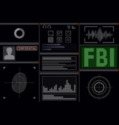 Computer software for the fbi vector
