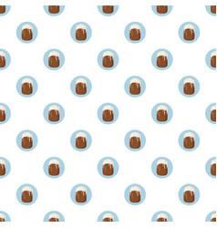 Easter cake pattern vector