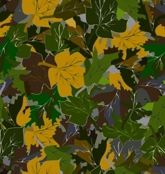 Military summer camouflage pattern vector