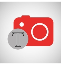photo editing design vector image