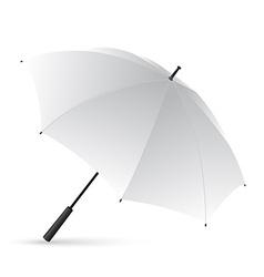 White umbrella vector