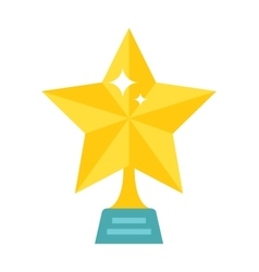 golden star vector image