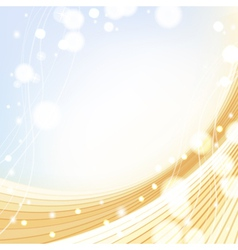 Abstract gold soft background vector