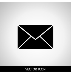 Envelope Icon Mail symbol for your web site vector image vector image
