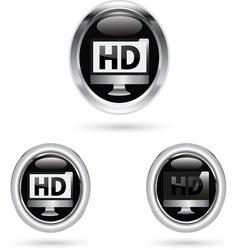 HD BLACK ICON vector