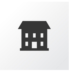 house icon symbol premium quality isolated home vector image