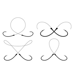 Fish Hook Tattoo Vector Images 76