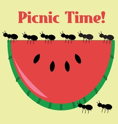 Picnic Time vector