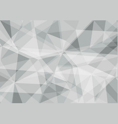 polygon gray and white color abstract background vector image