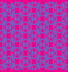 seamless pattern on the pink background vector image
