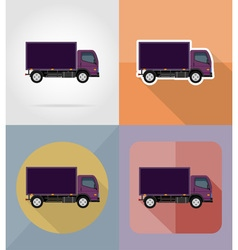 Transport flat icons 15 vector