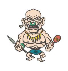 Tribes inland cartoons cartoon character vector