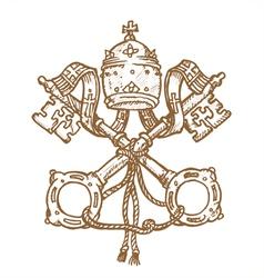 Vatican Symbol vector