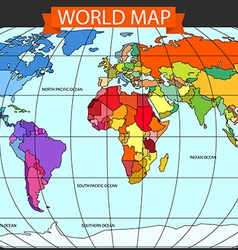 World Map Equator Vector Images (over 380)