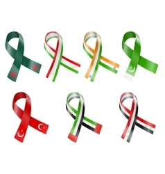 Flag Ribbon vector image
