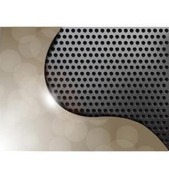 metallic texture background vector image