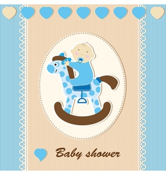 18 boy card vector