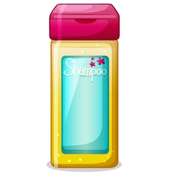 A bottle of shampoo vector
