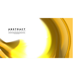 Abstract background golden waves overlap with vector