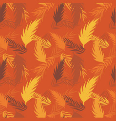 abstract palm leaf background vector image