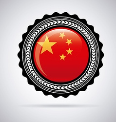 china design vector image